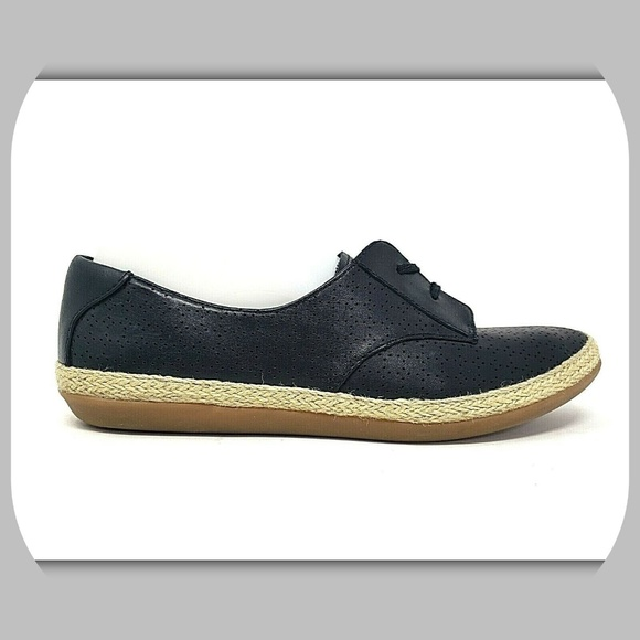 Leather Fashion Espadrille Sneakers